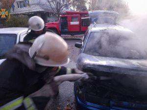 Кіровоградщина: У Смоліно рано-вранці зайнявся автомобіль