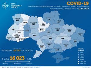 12 травня: Кіровоградщина: +5 нових хворих на коронавірус