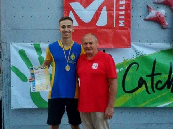 Скелелаз із Кропивницького виборов перемогу на розіграшу Кубка України