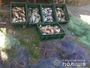 На Кіровоградщині поліцейські разом з працівниками рибохорони затримали браконьєра