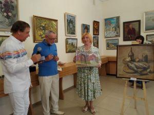 «Із любов'ю з Одеси»: у Кропивницькому відкрилась виставка одеських художників (ФОТО, ВІДЕО)