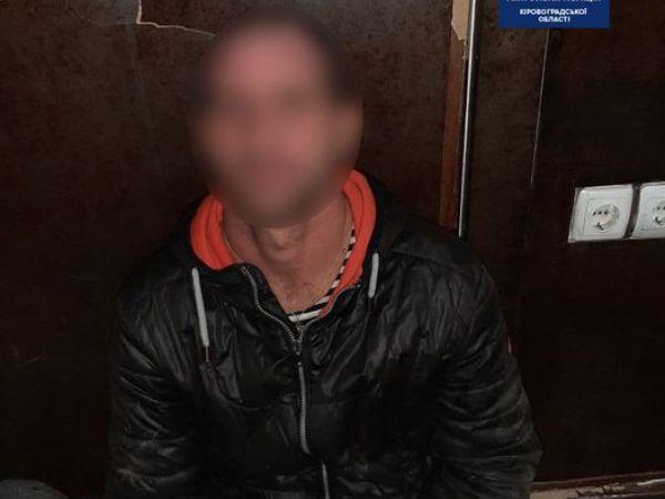 У Кропивницькому затримали чоловіка, який намагався пограбувати приватний будинок