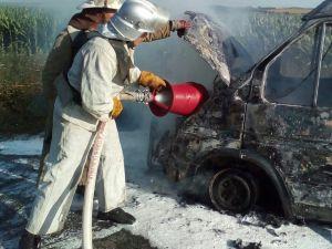 На Кіровоградщині загорілась іномарка і не тільки