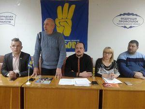 У Кропивницькому перед громадою звітували депутати ВО «Свобода»