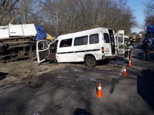 На Кіровоградщині у ДТП постраждало семеро людей (ФОТО)