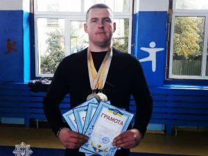 Кропивницький патрульний виборов призові місця на кубку імені Павла Антоненка