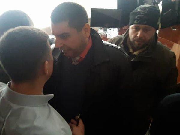 """В кабінеті керівника ПАТ """"Кіровоградгаз"""" сталася бійка (ФОТО)"""