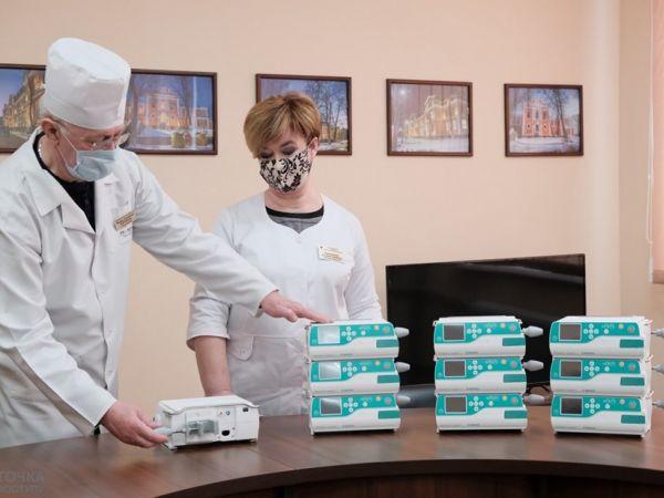 Кіровоградщина: Меценати передали дитячій обласній лікарні нове обладнання