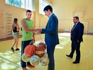 Кіровоградщина: Для юних новомиргородців відремонтували спортивну школу