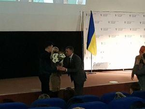 Двох кропивницьких спортсменів нагородили нагрудними знаками «Майстер спорту» (ФОТО)