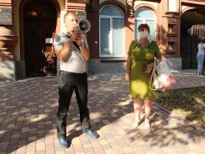 Кіровоградщина: СБУ не встановлюватиме осіб, які здійснюють наругу над державними символами України