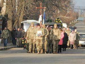 У Помічній попрощалися з загиблим на сході України бійцем (ФОТО)
