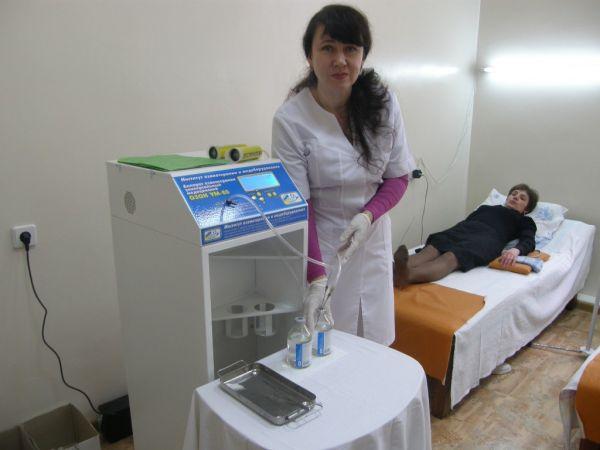 Знам'янська бальнеологічна лікарня отримала допомогу для своїх працівників