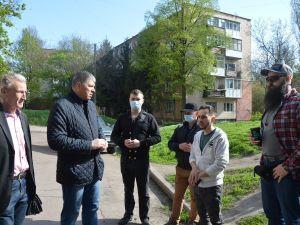 У Кропивницькому планується демонтаж комуністичного гасла на гуртожитку