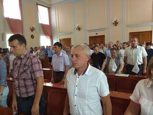 Сесія міської ради Кропивницького розпочалася із хвилини мовчання