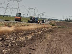 Кіровоградщина: Ремонтують дорогу на Умань