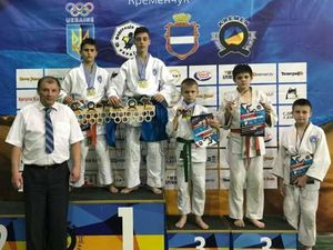 Юні кропивницькі дзюдоїсти вибороли медалі на фестивалі Kremen Cup