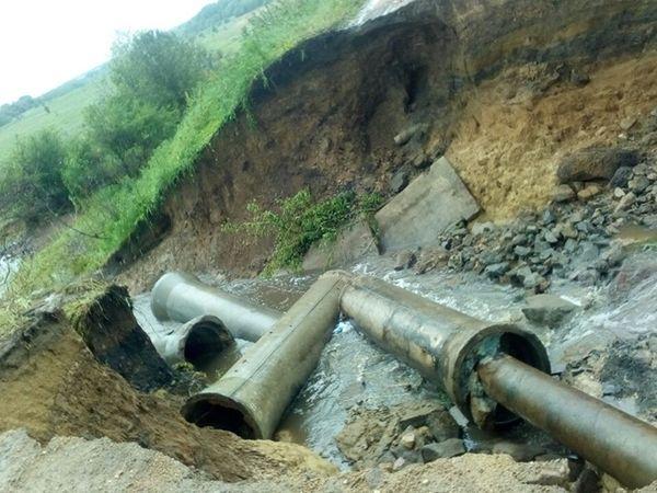 На Кіровоградщині Бобринецький район сильно постраждав від зливи (ВІДЕО)