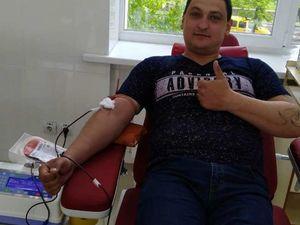До Всеукраїнської акції «Здай кров – врятуй життя!» долучилися патрульні Кіровоградщини