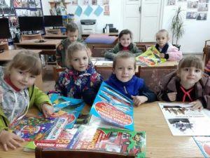 Юні читачі завітали до бібліотеки на вернісаж книжкових виставок