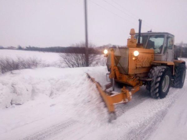 Кіровоградщина: Дороги державного значення розчищені