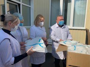 Кропивницькі лікарні отримали засоби захисту для медиків