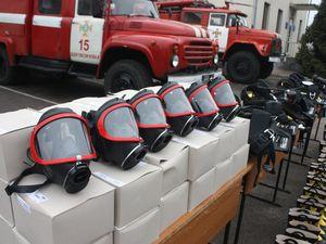 Кіровоградщина: У райцентрах пожежники отримали нове спорядження