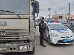 Машина патрульної поліції спричинила ДТП у Кропивницькому (ФОТО)