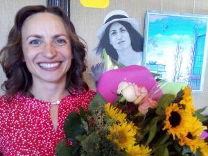 У Кропивницькому художниця показала шанувальникам «Пів голови» (ФОТО)