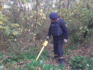 У Богданівці на городі знайшли мінометну міну часів Другої світової війни