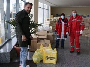 Кiровоградщина: ФК «Олександрiя» знову допомагає медикам з обладнанням