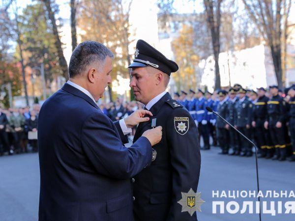 У МВС відзначили кращих поліцейських