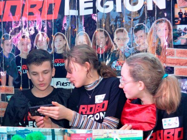 Кропивницька команда «ROBO LEGION» премогла у відбірковому турнірі з робототехніки