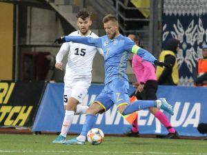 Десятий матч без поразок: збірна України на останніх хвилинах виборола перемогу проти Естонії