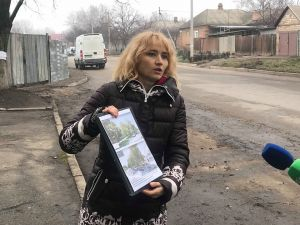 У Кропивницькому стався скандал навколо гідросилівських дерев (ФОТО)