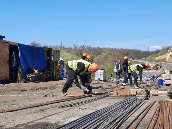 Кіровоградщина: Триває ремонт мосту через Синюху
