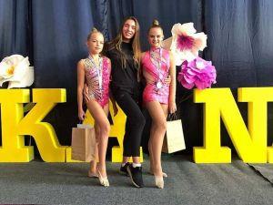 Гімнастки з Кропивницького вибороли медалі на турнірі