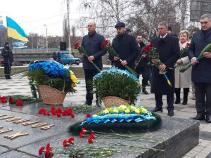 Кропивницький: Містяни вшановують пам'ять героїв Чорнобиля (ФОТО)
