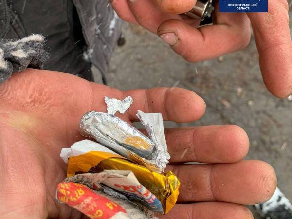 У Кропивницькому патрульні виявили у кропивничан наркотики