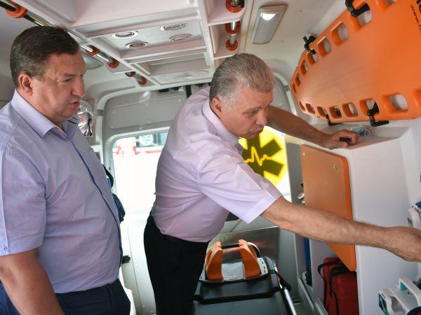На Кіровоградщині триває реорганізація екстреної медичної допомоги