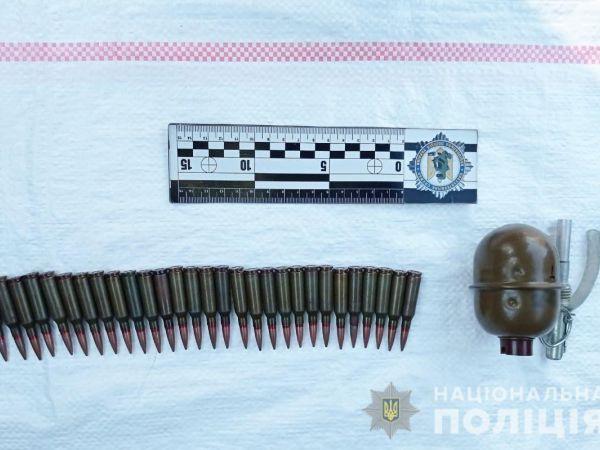 На Кіровоградщині правоохоронці затримали громадянина, який збував боєприпаси