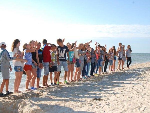 Детский оздоровительный лагерь «Орленок»  приглашает на Азовское море!