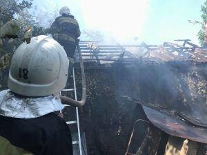 На Кіровоградщині під час пожежі травмувався чоловік