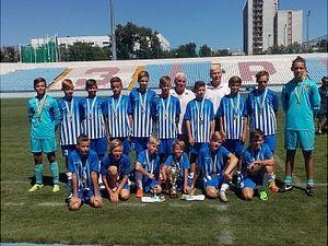 Молоді кропивницькі футболісти стали переможцями відкритого турніру пам'яті Андрія Куценка