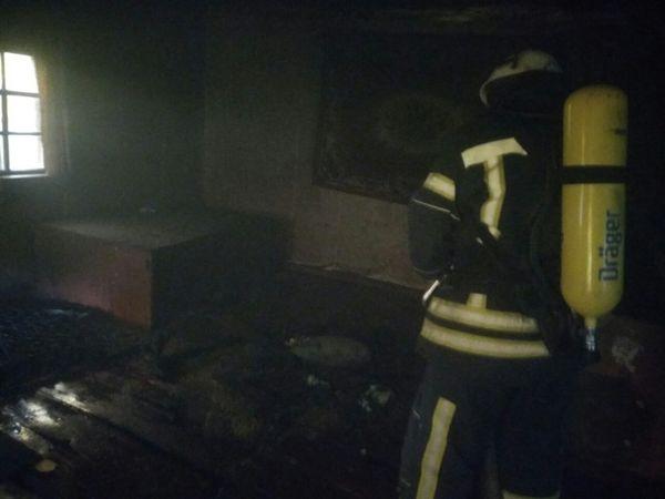 Кіровоградщина: Під час  пожежі рятувальники знайшли тіло 32-річного громадянина