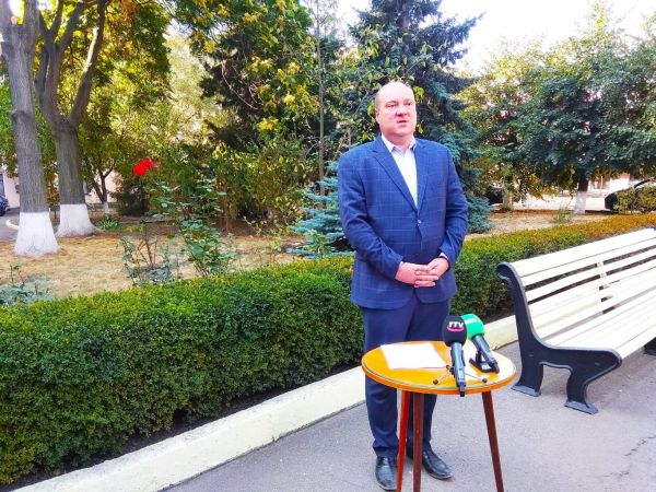 Триває Брифінг директора департаменту охорони здоров'я Кіровоградської ОДА Олега Рибальченка (ВІДЕО)