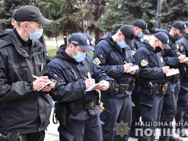 Поліцейські Кіровоградщини посилили контроль за дотриманням карантинних заходів