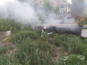 У центрі Кропивницького сталася пожежа