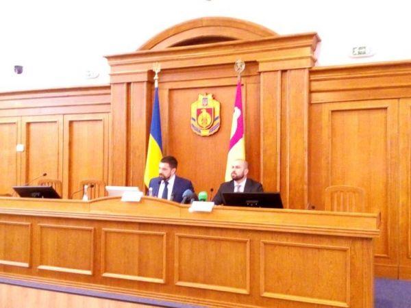 Новопризначений голова Кіровоградської облдержадміністрації запізнився на власне представлення