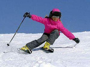 Кропивницький: У міському саду навчають кататися на лижах (ВІДЕО)